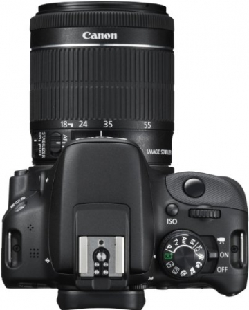Canon EOS 100D SLR-Digitalkamera (18 Megapixel, 7,6 cm (3 Zoll) Touchscreen, Full HD, Live-View) Kit inkl. EF-S 18-55mm 1:3,5-5,6 IS STM - 7