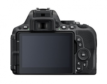 Nikon D5500 SLR-Digitalkamera (24 Megapixel, 8,1 cm (3,2 Zoll) Touchscreen-Display, bildstabilisiert, Full-HD-Video, Wi-Fi) Kit inkl. 18-55mm VR II Objektiv schwarz - 2