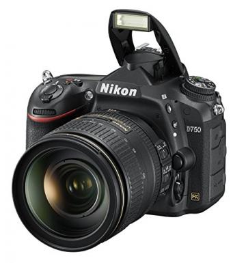 Nikon D750 SLR-Digitalkamera (24,3 Megapixel, 8,1 cm (3,2 Zoll) Display, HDMI, USB 2.0) nur Gehäuse schwarz - 11