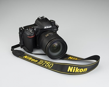 Nikon D750 SLR-Digitalkamera (24,3 Megapixel, 8,1 cm (3,2 Zoll) Display, HDMI, USB 2.0) nur Gehäuse schwarz - 16