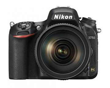 Nikon D750 SLR-Digitalkamera (24,3 Megapixel, 8,1 cm (3,2 Zoll) Display, HDMI, USB 2.0) nur Gehäuse schwarz - 6