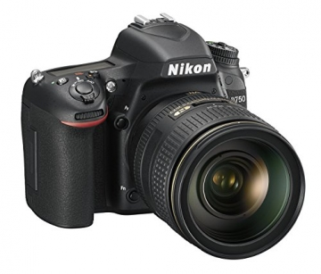 Nikon D750 SLR-Digitalkamera (24,3 Megapixel, 8,1 cm (3,2 Zoll) Display, HDMI, USB 2.0) nur Gehäuse schwarz - 8