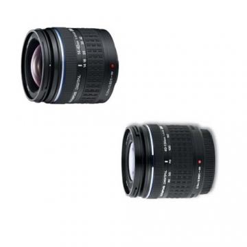 Olympus E-420 SLR-Digitalkamera (10 Megapixel, LifeView) Kit inkl. 14-42mm & 40-150mm Objektive - 2